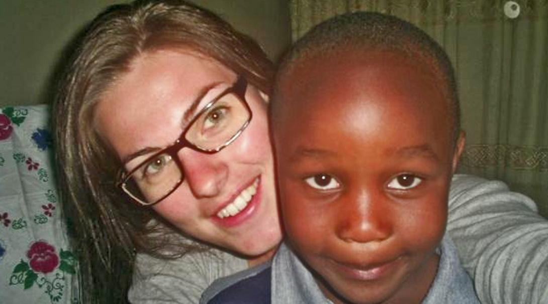 Anne van R in Tanzania